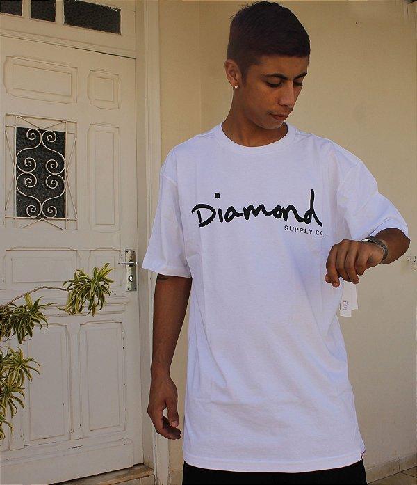 Camiseta Diamond OG Sign Tee Z16DPA01