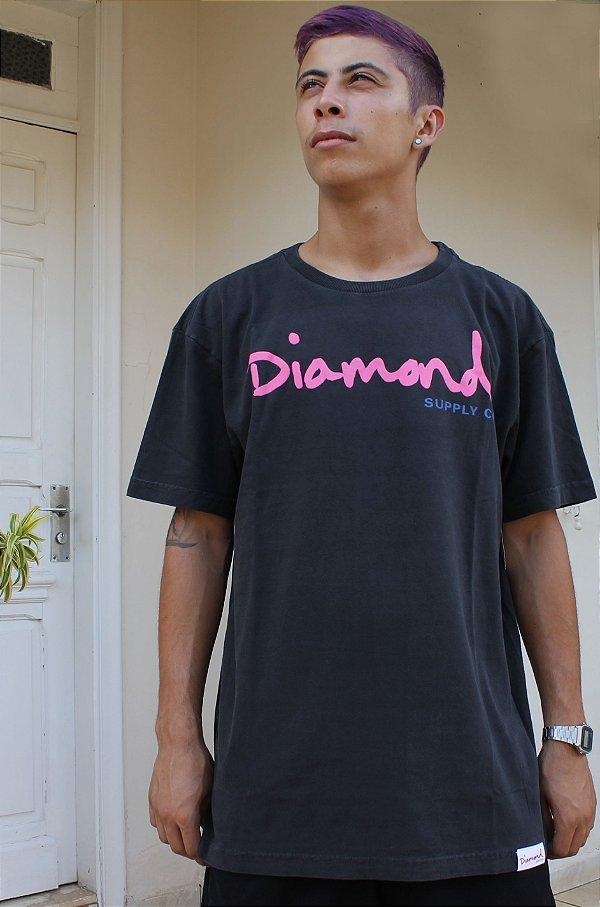 Camiseta Diamond OG Sign Tee A20DMPA020