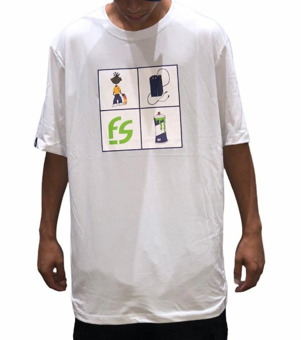 Camiseta Free Session Walkman