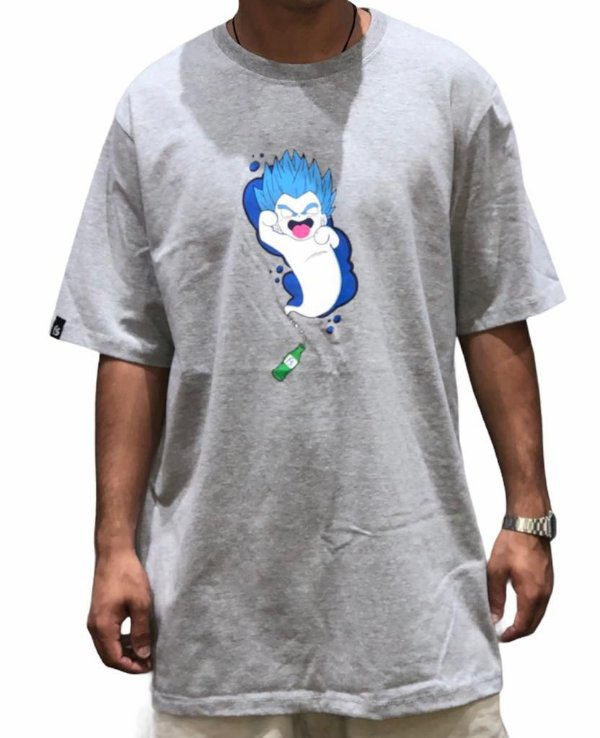 Camiseta Free Session  Fantasma