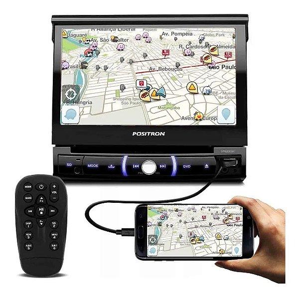 Dvd Player Retrátil Pósitron Sp6330bt Bt Espelhamento iPhone