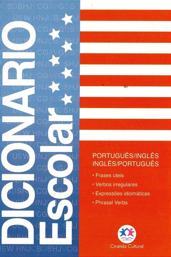 Dicionario Inglês Escolar Completo Ciranda