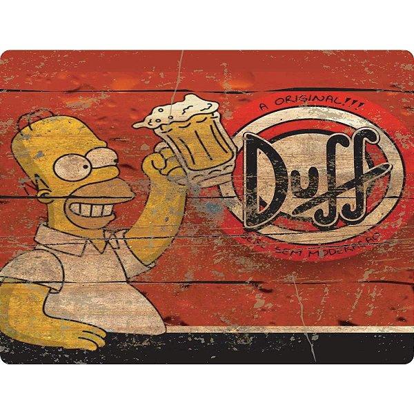Quadro Decorativo Simpsons Duff Stalo