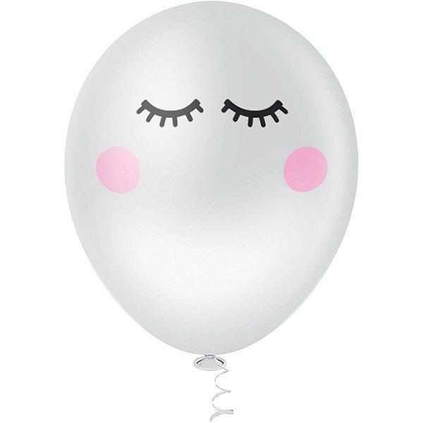 Balão Decorado N.010 Olhinhos Riberball