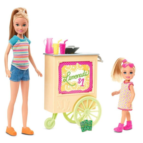 Barbie Family Stacie Stand Limonada Mattel