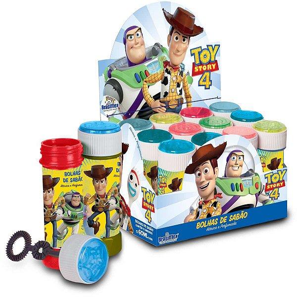 Bolha De Sabão Toy Story 60ml C/Jogo Brasilflex