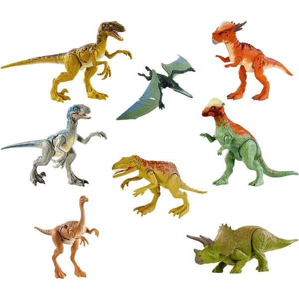 Boneco E Personagem Jurassic World Combate Letal Mattel