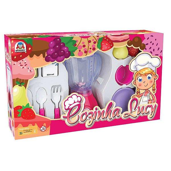 Brincando De Casinha Cozinha Lucy Liquidificador Braskit