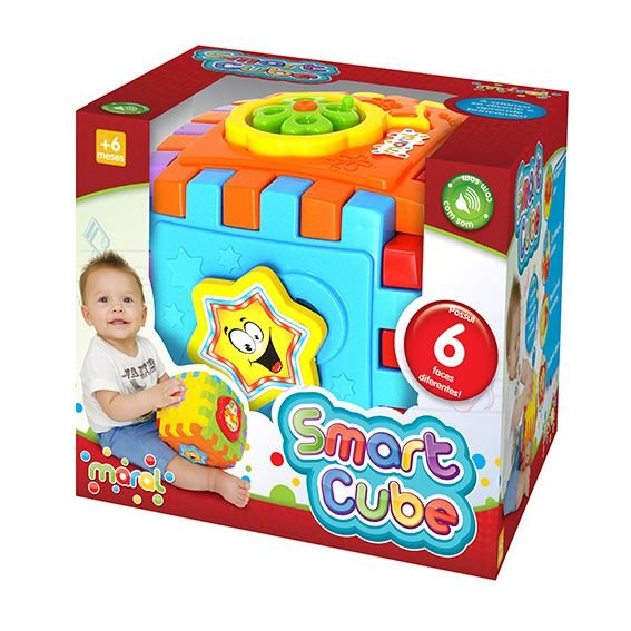 Brinquedo Educativo Smart Cube Caixa Maral