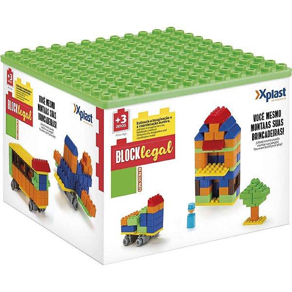 Brinquedo Para Montar Block Legal 44 Pecas Homeplay