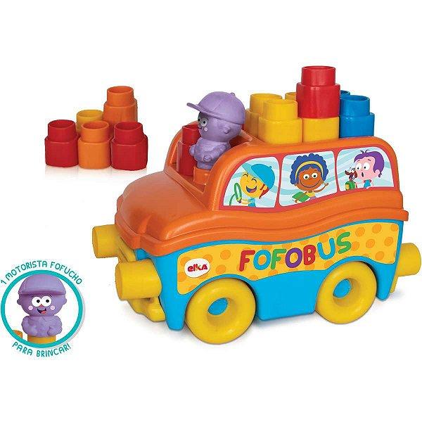 Brinquedo Para Montar Fofobus 14 Pecas Elka