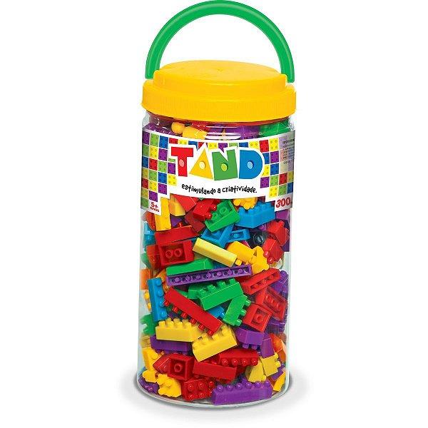 Brinquedo Para Montar Tand 300 Pecas Toyster