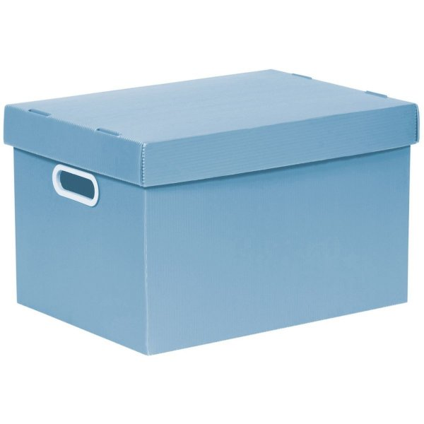 Caixa Organizadora Candy Az/P 440x260x330 Gd Polycart