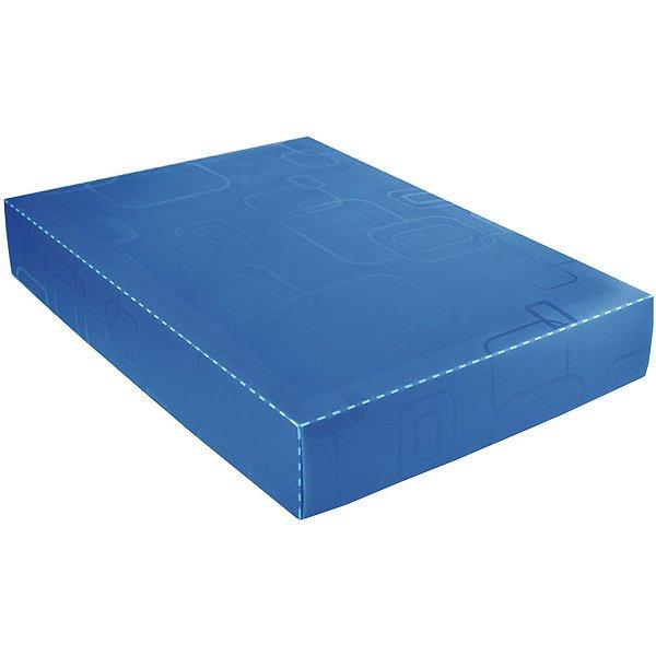 Caixa Organizadora Padrao Camisa Azul Dello