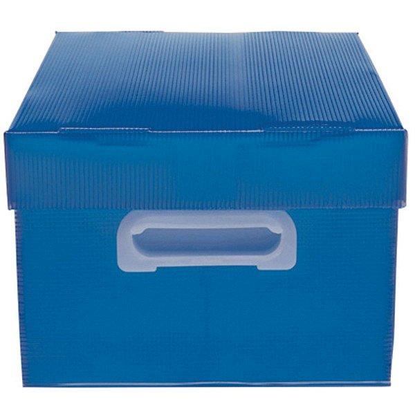 Caixa Organizadora The Best Box P 335x255x180 Az Polibras