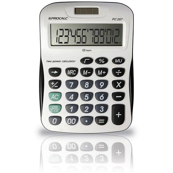 Calculadora De Mesa 12dig.Visor Inc.Roll Over Procalc