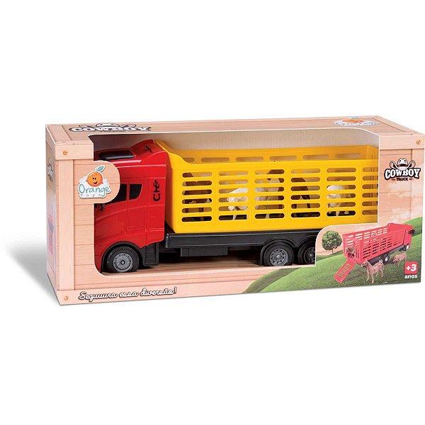 Caminhão Cowboy Truck Sortidos Orange Toys