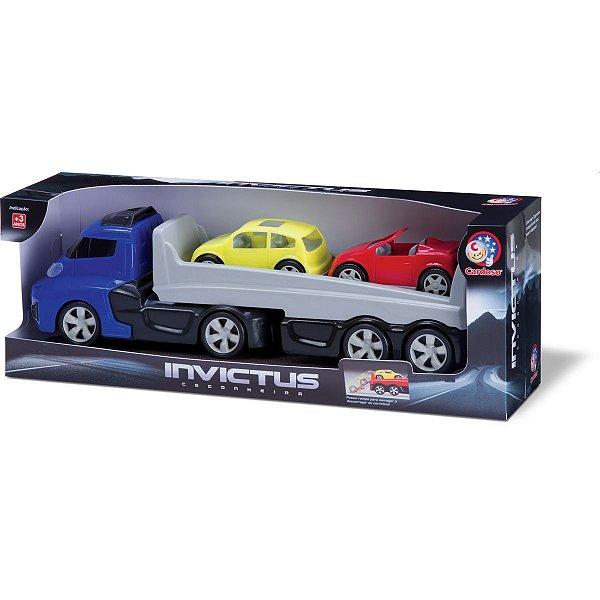Caminhão Invictus Cegonheiro Cardoso Toys
