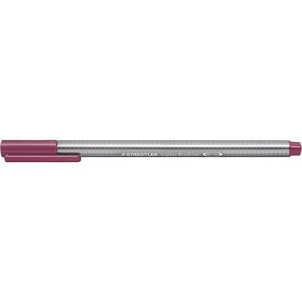 Caneta Com Ponta Porosa Fineliner Triplus 0.3mm Pink Staedtler