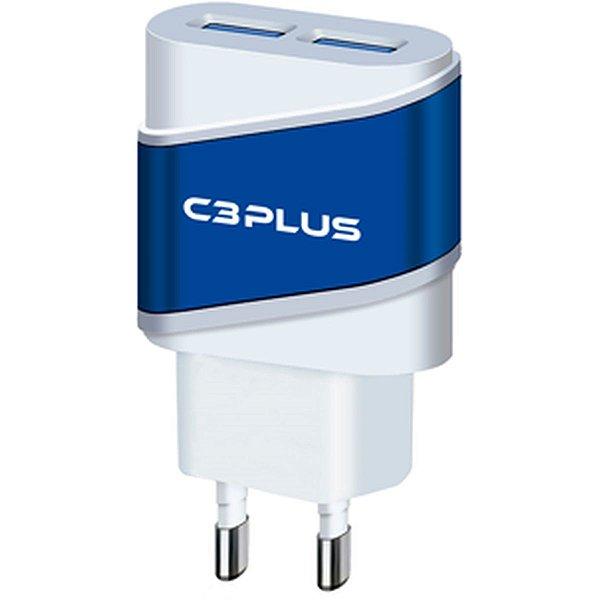 Carregador Celular De Parede Ac/Usb Universal 2a Uc-20bwh C3 Tech
