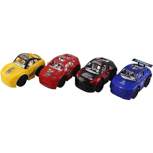 Carrinho A Fricção Mini Car Sport Pais E Filhos