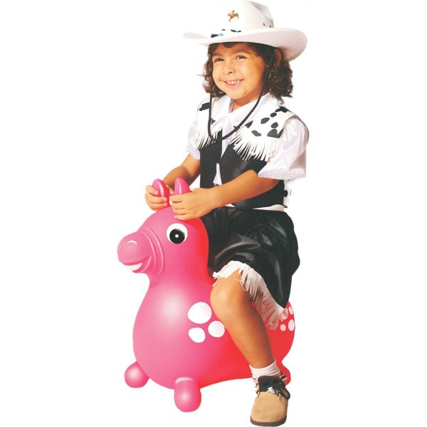Cavalinho Infantil Upa Upa Do Gugu Rosa Lider