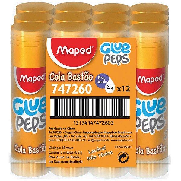 Cola Em Bastão Glue Peps 21g Maped
