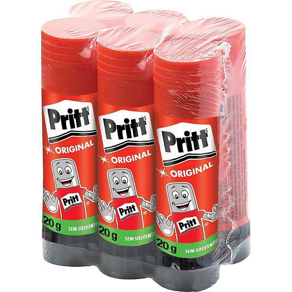 Cola Em Bastão Pritt 20 Gramas Henkel