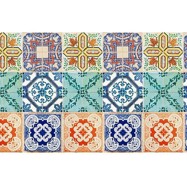 Contact Azulejos 15x15cm Azulejo Lisboa C/18 Plastcover