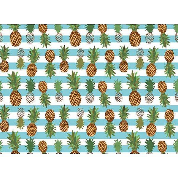 Contact Decorado 45cmx10m Ananas Plastcover