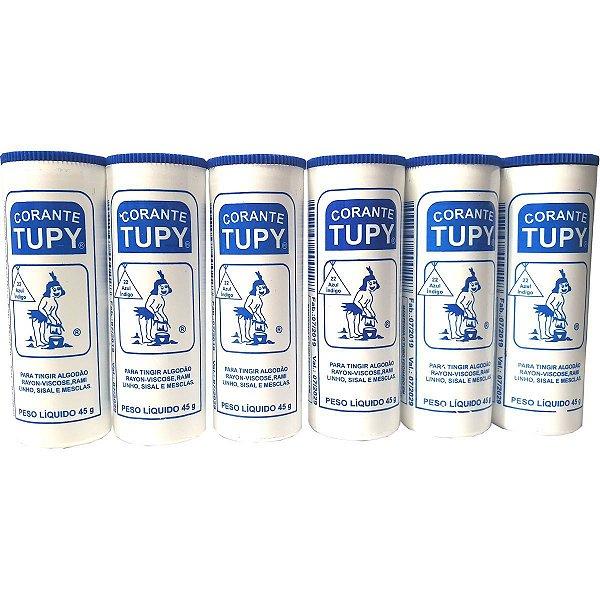 Corante Em Pó Azul Indigo Tupy Algodao Corantes Tupy