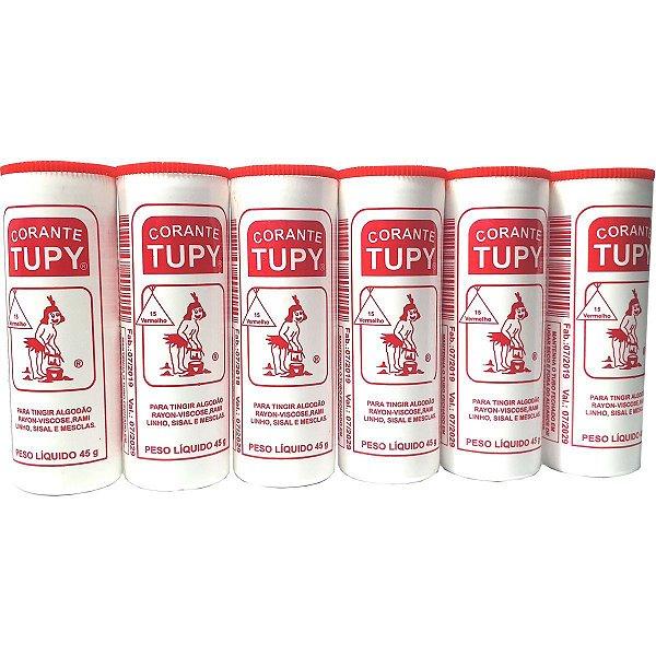 Corante Em Pó Vermelho Tupy Algodao Corantes Tupy