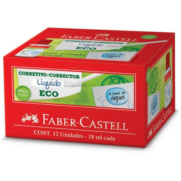 Corretivo Faber-Castell Eco 18ml Faber-Castell