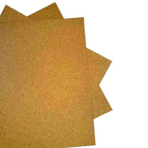 Cortiça Em Folhas Aberta Med.60x45cm. 1mm Eduart