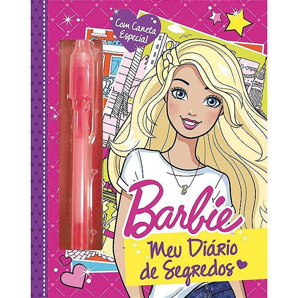 Diário Barbie Diario Magico C/Caneta Ciranda