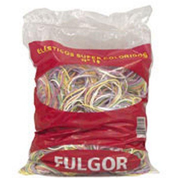 Elástico Colorido Latex N.18 Ptc/ 1 Kilo Fulgor