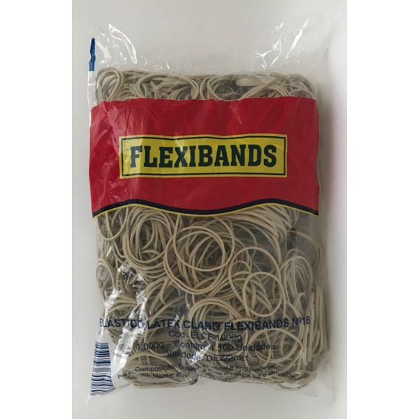 Elástico Flexibands Latex 1kg Fulgor