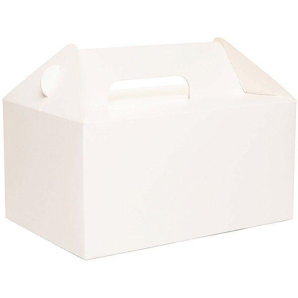 Embalagem Para Alimentos Lanche 20x13,5x10cm. Branco Cromus