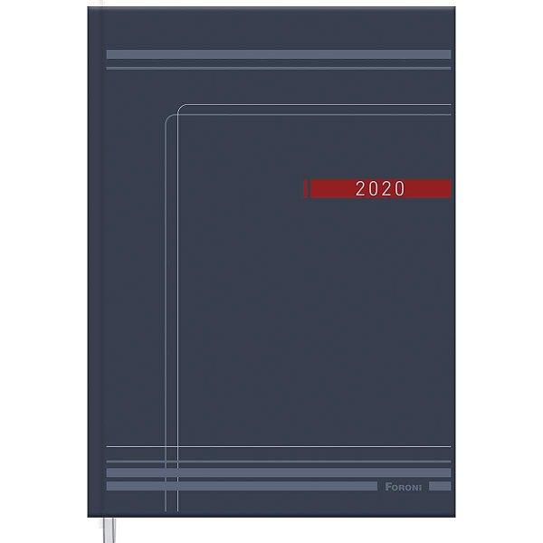 AGENDA FORONI 2021 COMPACTA PRETA 168FLS. FORONI