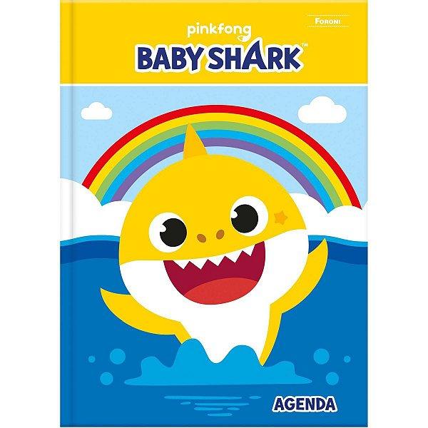 AGENDA PERMANENTE BABY SHARK CD 96FLS. FORONI