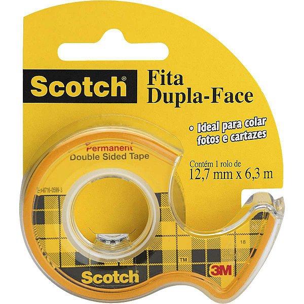 Fita Dupla Face 12,7X6,35Mm C/ Dispensador 3M