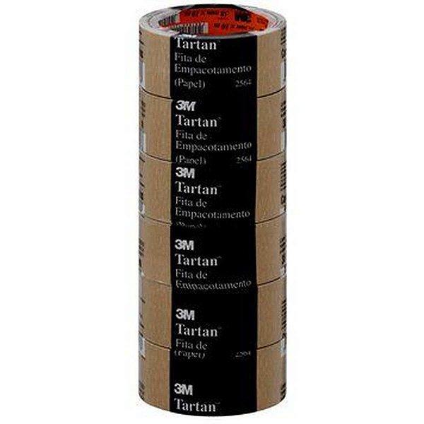 Fita Para Empacotamento Papel 2564 38Mmx10M. 3M