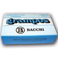 Grampo Para Grampeador 23/10 Galvanizado 5000 Grampos Bacchi