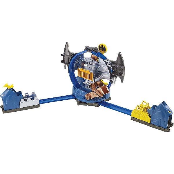 Hot Wheels Pista E Acessorio Batman Batcaverna Playset Mattel
