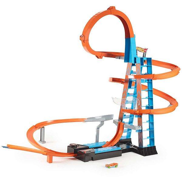 Hot Wheels Pista E Acessorio Torre De Colisao Aerea Mattel