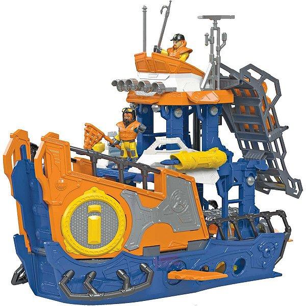 Imaginext Navio Comando Do Mar Mattel