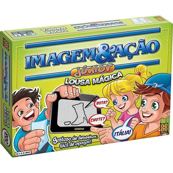 Jogo De Tabuleiro Imagem E Acao Jr. Lousa Magica Grow