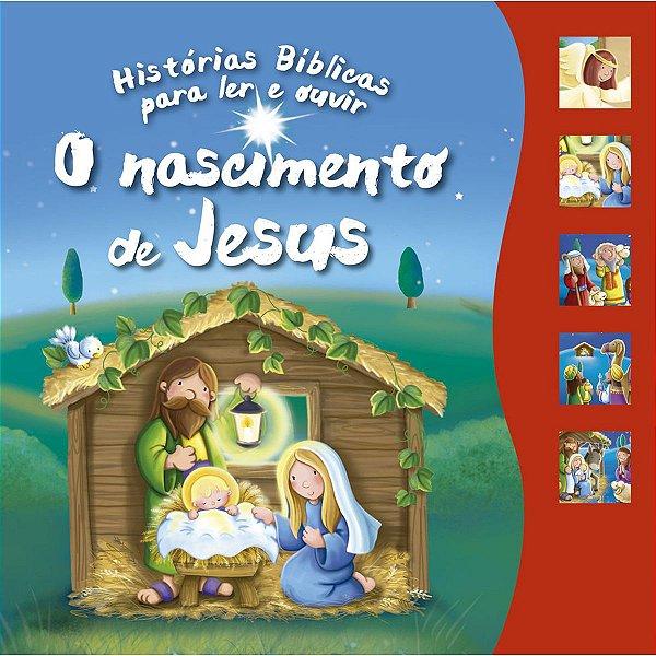 Livro Brinquedo Ilustrado Nascimento De Jesus Sonoro 12P Ciranda