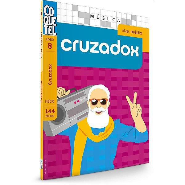 Livro Coquetel Cruzadox Medio Ediouro