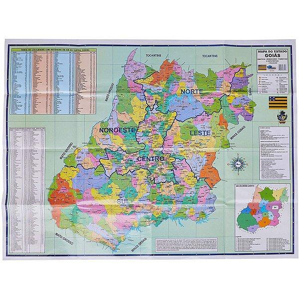 Mapa Periodico Estado De Goias Multimapas